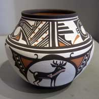Polychrome water jar