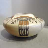 Polychrome Sikyatki-style pot by Dextra Quotskuyva Nampeyo
